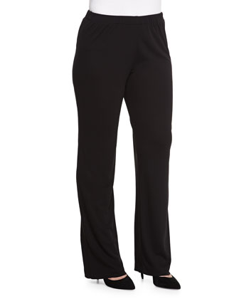 Jersey Interlock Easy Pants, Women's