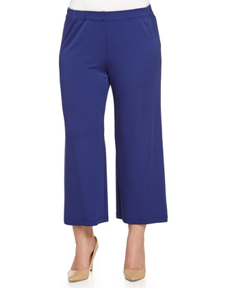 Opus Jersey Ankle Pants