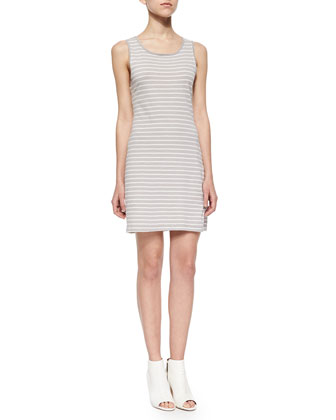 The Louella Striped Tank Dress