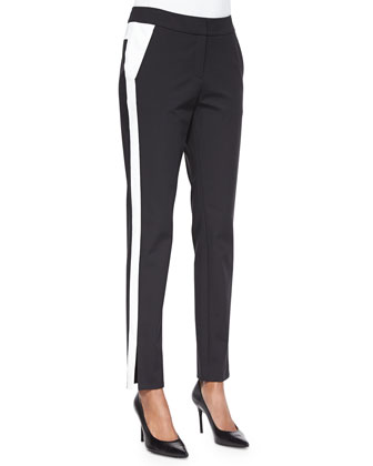 Bi-Stretch Two-Tone Pants