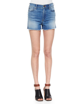 Ava High-Rise Cutoff Shorts