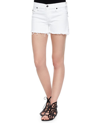 Keira Low-Rise Cutoff Shorts