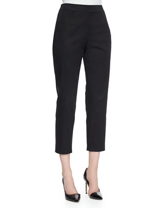 Sloane Skinny Ankle Pants, Black
