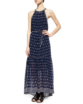 Maryanna Printed Tiered Maxi Dress