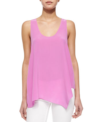 Ardson Loose Uneven Tank Top