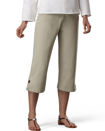 Zen Capri Pants, Stone