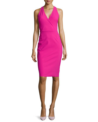 Narmina Cross-Back Sheath Dress