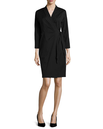 Dolly Three-Quarter-Sleeve Dress