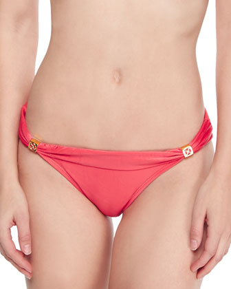 Bia Halter Swim Top & Bia Cinched Swim Bottom