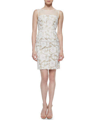 Sarah Lace Sheath Cocktail Dress