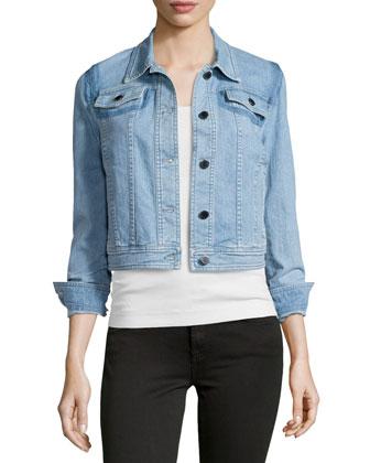 Long-Sleeve Denim Jacket