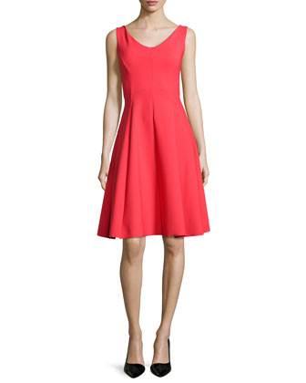 Soraya Fit & Flare Cocktail Dress, Geranio