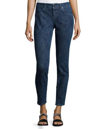 Skinny Ankle Grazer Denim Jeans