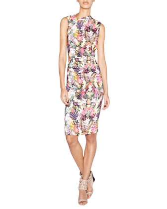 Sleeveless Tutti Frutti Sheath Dress