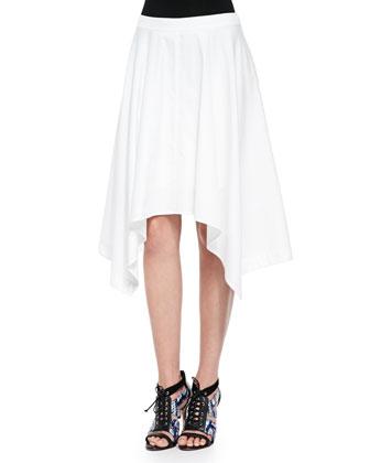 Jackie Asymmetric A-Line Skirt
