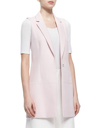 Finn Long Suiting Vest