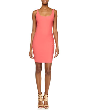 Torran Sleeveless Slim Crepe Dress