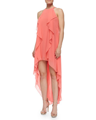 Kelsia High-Low Cocktail Dress