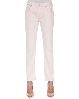 Relaxed Skinny Jeans, Whisper Pink