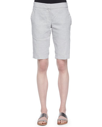 Organic Linen-Blend Walking Shorts
