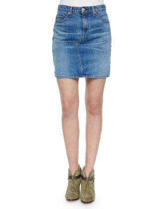 Clean Bigbee Denim Mini Skirt