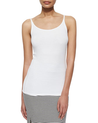 Long Slim Ribbed Cami