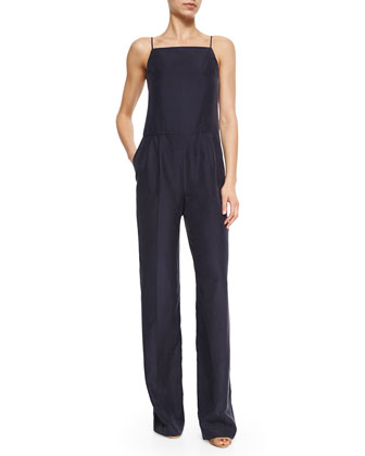 Vintan Sleeveless Wide-Leg Jumpsuit