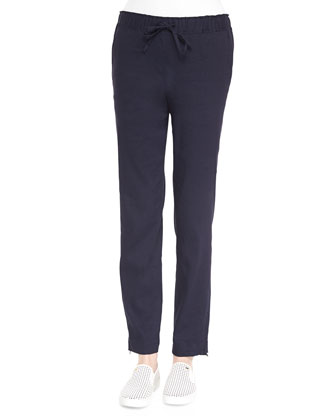 Neal Pull-On Drawstring Pants