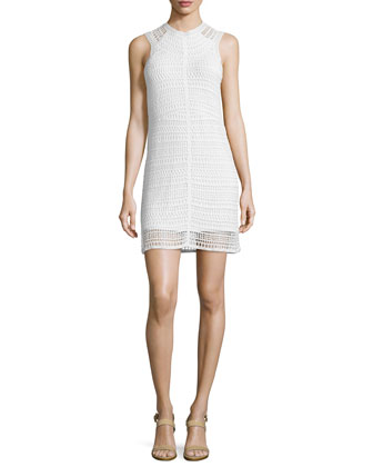 Nirlee Sleeveless Crochet Dress