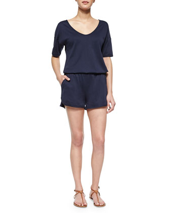 Jiyan Knit Short Jumpsuit