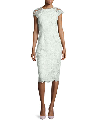Raenna Fitted Lace Dress