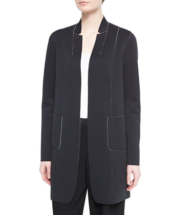 Natalie Long Reversible Coat