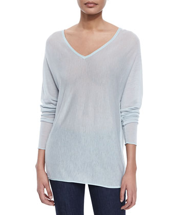 Harvey Cashmere Sweater, Mint