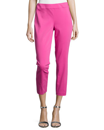 Batu Slim Ankle Pants, Orchid