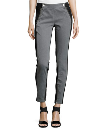 Tuxedo Zip-Pocket Jeans