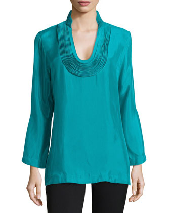 Daray Tunic Top, Sea Green