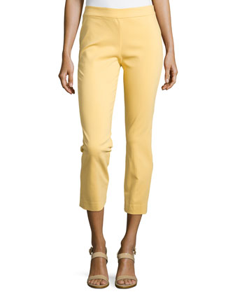 Imperial Slim Ankle Pants, Sunshine