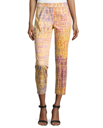 Yari Printed Ankle Pants