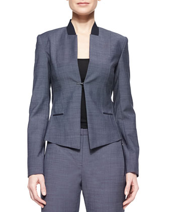 Donilyn Jacket W/ Jersey Trim & Pants