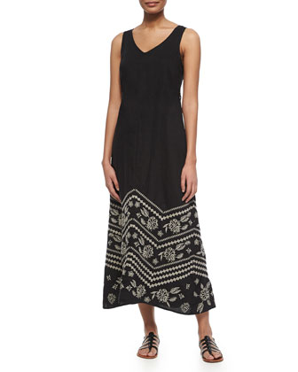 Petra Embroidered Maxi Dress