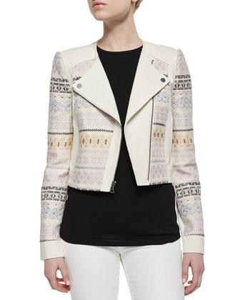 Cody Embroidered Woven Jacket