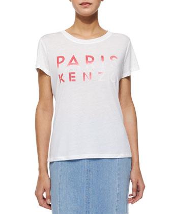 Short-Sleeve Paris Kenzo Tee