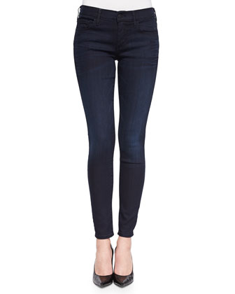 Halle Dark-Wash Skinny Jeans, Painful Love