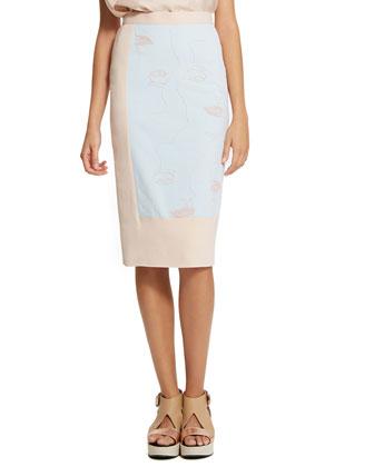 Betty Paneled Muse Skirt