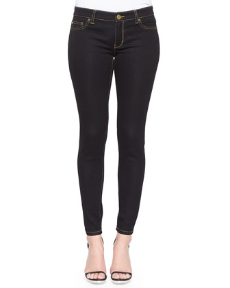 Jet Set Legging Jeans, Black, Women's