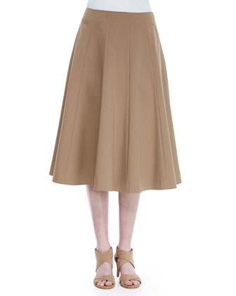 Nevada A-Line Skirt, Chai