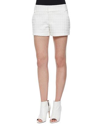 Eryn Patterned Boxy Top & Cady Shorts