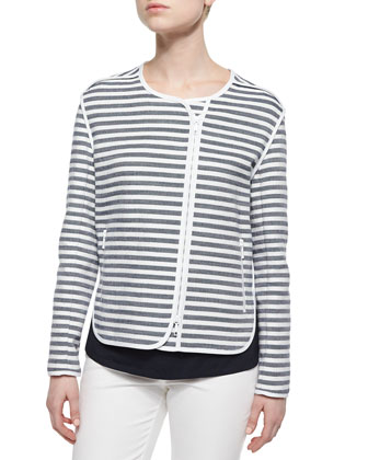 Charlane Striped Topper Jacket