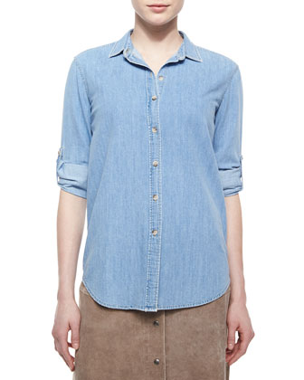 The Loose Chambray Shirt