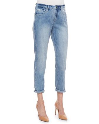 Jamie Boyfriend Rolled Cropped Jeans